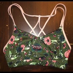 FREE W/ $30 Purchase Old Navy Green Floral Bra S